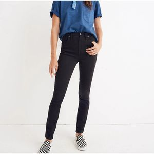 """Madewell 10"""" High-Rise Skinny Jeans in Johnny Wash"""